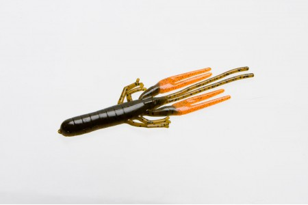 Big Critter Craw, Green Pumpkin Orange
